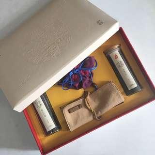 天樂茶方普洱生茶及熟禮盒