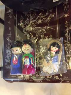 Asian Figuring Dolls