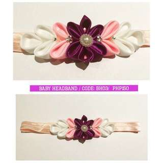 Take All Baby Cute Soft Band Floral Headbands 0-6mos