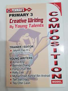Primary 3 composition book