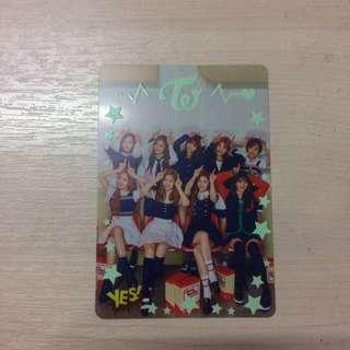 Twice 3D Photocard