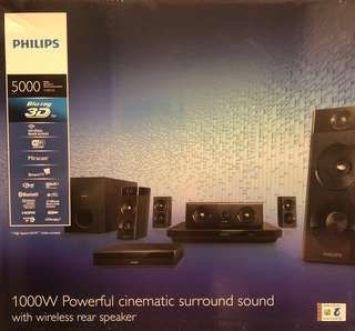 1000w Philips Cinematic Home Theatre System