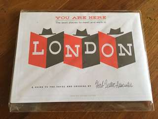 #wallfleurtravels: The Best Places to Meet and Work in London (Herb Lester Assoc.)
