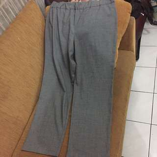Celana bahan big size jacklyn smith