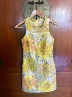 Miss selfridge jacquard shift dress