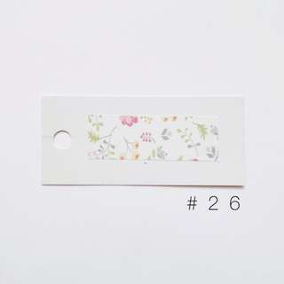 washi sample #26