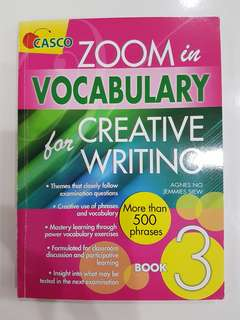 Primary 3 Creative writing book