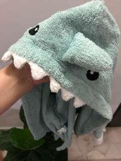 Hoodie towel for newborn