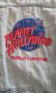 Planet Hollywood 1991 Denim Jacket Vintage