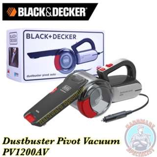 Black & Decker Dustbuster Pivot 12V Car Vacuum Cleaner PV1200AV