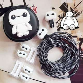 Cord Protector Set for Earphone and Charger