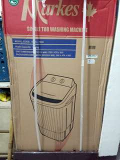 Single Washing Machine