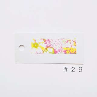 washi sample #29