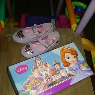 Sofia the first doll shoe