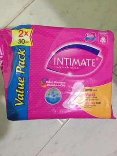 Intimate maxi day use 2x 30