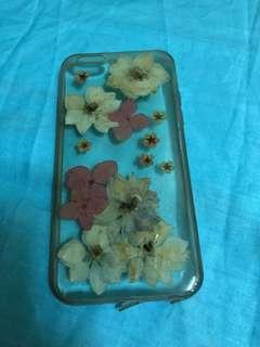 透黃乾花iPhone6手機殼