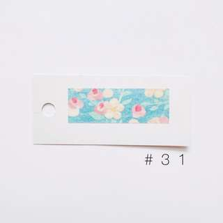 washi sample #31