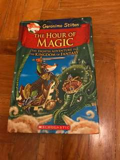 Geronimo Stilton The hour of magic kingdom of fantasy