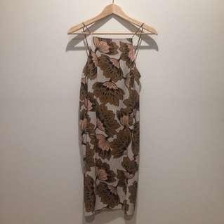 Summer floral dress size 10