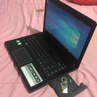 Seri Terbaru LAPTOP ACER E5-475G core i5-7200 VGA NVIDIA GT940MX 2GB GAMING DESIGN
