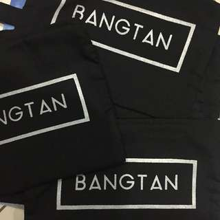 BTS BANGTAN POUCH/PENCIL CASE