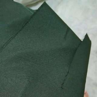 Army Green Yellow Line Uniform Fabric