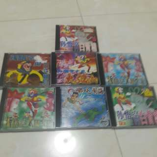 Chinese cartoon story vcd lot