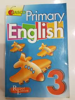 Primary 3 English book