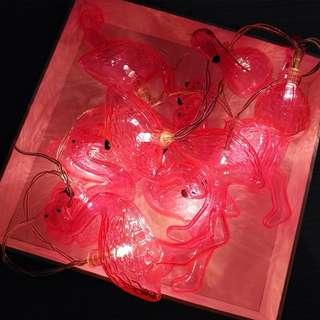 Lampu flamingo