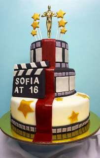Customized Fondant Cake