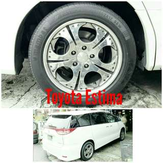 Tyre 225/50 R17 Membat on Toyota Estima 🐕 Super Offer 🙋‍♂️