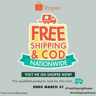 FREESHIPPING!!!!!! FOR ANY AMOUNT ON SHOPPE!