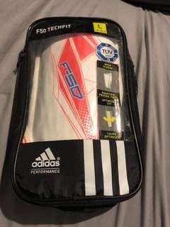 Adidas F50 techfit sleeve shin guards