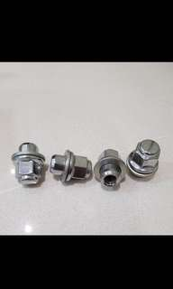 Toyota authentic lug nuts