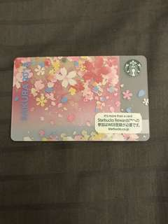 Starbucks Card japan Sakura 2018