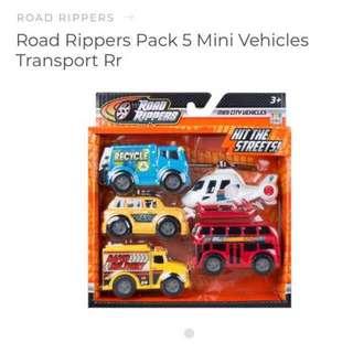 BNIB ROAD RIPPERS Mini City Vehicles 🚗