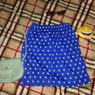 Blue Sext Skirt