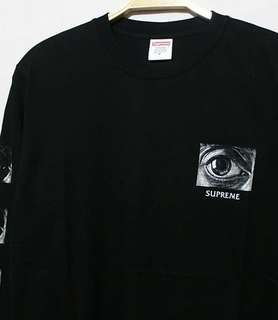 Kaos Baju Supreme (Long Sleeve)