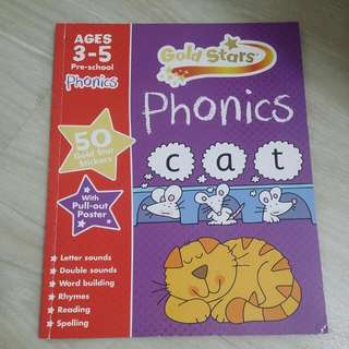 Gold Stars Phonics For Age 3 To 5