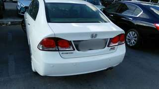 honda civic auto i.vtec 2.0cc 2010yrs