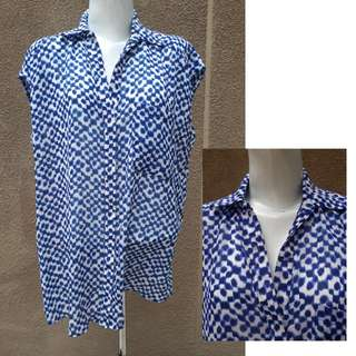 50% Disc. MANGO - CASUAL BLUS