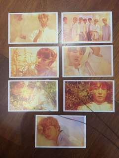 BTS LOVE YOURSELF O VERSION PHOTOCARDS
