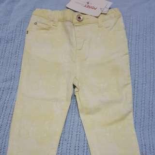 Poney Pants 12-18m
