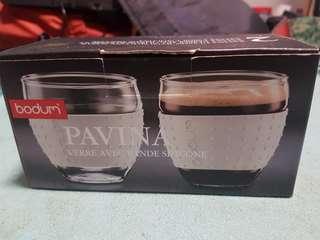 Bodum pavina glass with silcone sleeve