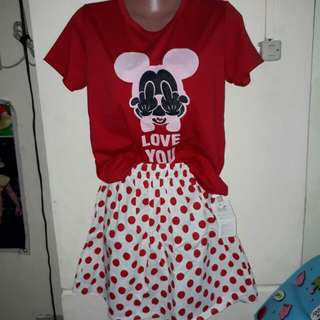 mickey mouse terno