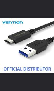 VENTION USB Type C 3.1 Male to Standard Male 3.0 USB Cable