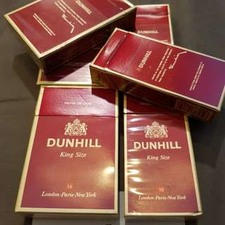 Dunhill cigarette Vintage 90's . Box only