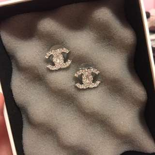 Chanel Earrings (Used Once)