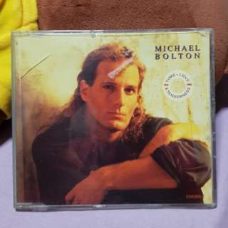 Michael Bolton Time Love & Tenderness Limited Edition Gold Disc CD