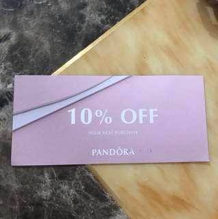 Pandora 10%off